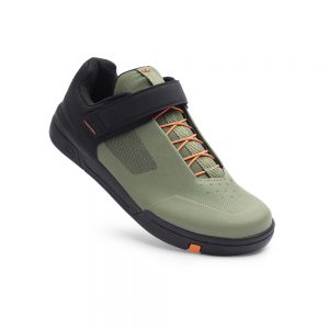 Zapatos Stamp Speed Lace - Verde Naranja (1)